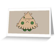 Pokemon Shroomish Greeting Card