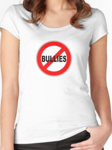 anti-bully Women's Fitted Scoop T-Shirt