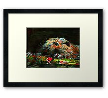 Dam Twilight Framed Print