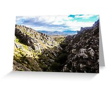 Central Otago countryside Greeting Card