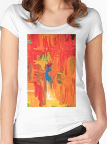Springtime 11 Women's Fitted Scoop T-Shirt