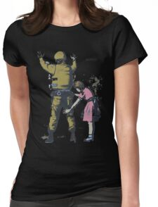 Banksy 2  Womens Fitted T-Shirt