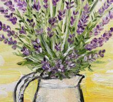 Fresh lavender Sticker