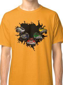 Turbo Zords (Ripped Shirt) Classic T-Shirt