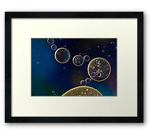 Lunar Space Framed Print