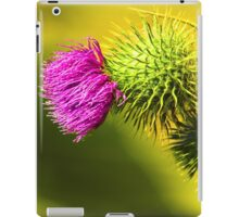 Nature's Crown - Thistle in Northern California iPad Case/Skin
