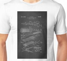 Vintage Hair Cutting Shears Patent 1942 Unisex T-Shirt