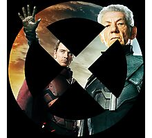 Magneto X-Men Logo Photographic Print