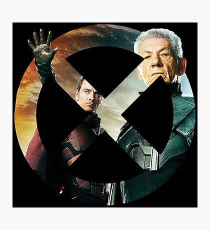Magneto X-Men Logo Photographic Print