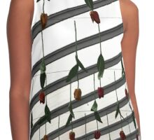 Hanging Tulips Contrast Tank