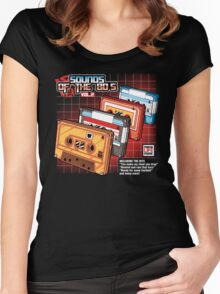 Sounds Of The 80s Vol.2 Women's Fitted Scoop T-Shirt