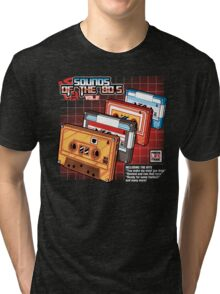Sounds Of The 80s Vol.2 Tri-blend T-Shirt