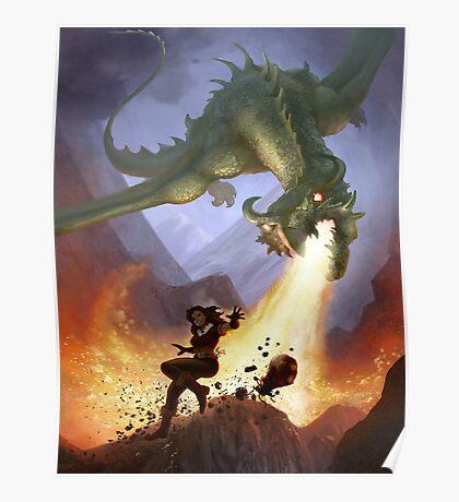 Dragon Attack Poster