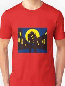 full moon liebespaar city T-Shirt