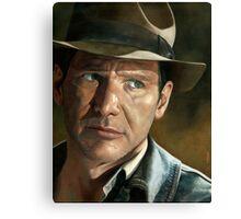 Harrison Ford - Indiana Jones Canvas Print