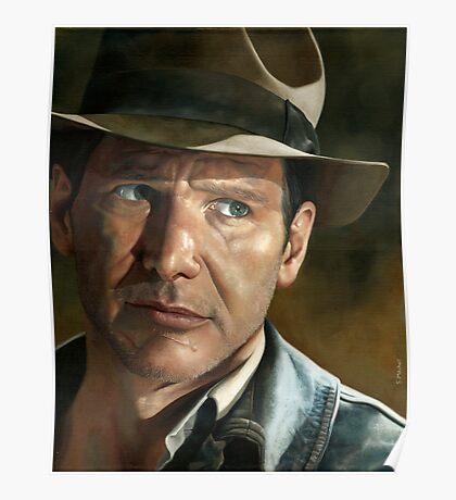Harrison Ford - Indiana Jones Poster