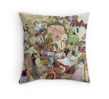 Victoriana Throw Pillow