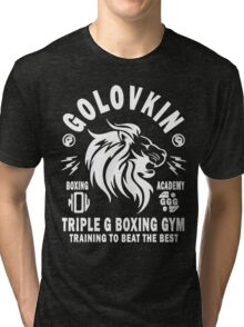 Gennady Golovkin Boxing Gym Tri-blend T-Shirt