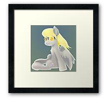 Derpy Hooves Framed Print