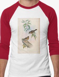 Birds of Asia John Gould 1883 V1 V7 276 Accentor Atrogularis T-Shirt