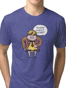 Tommy Want Wingy Tri-blend T-Shirt