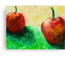 Fresh Fruit Painting Canvas Print