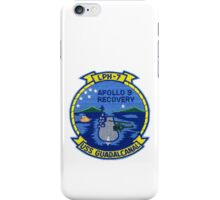 Apollo 9 Recovery:  USS Guadalcanal (LPH-7)  iPhone Case/Skin