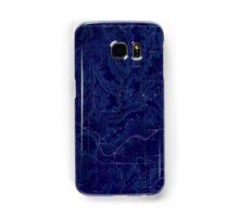 USGS TOPO Map Alabama AL Scottsboro 305864 1888 125000 Inverted Samsung Galaxy Case/Skin