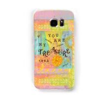 You are My Treasure--Affirmations From Abba  Samsung Galaxy Case/Skin