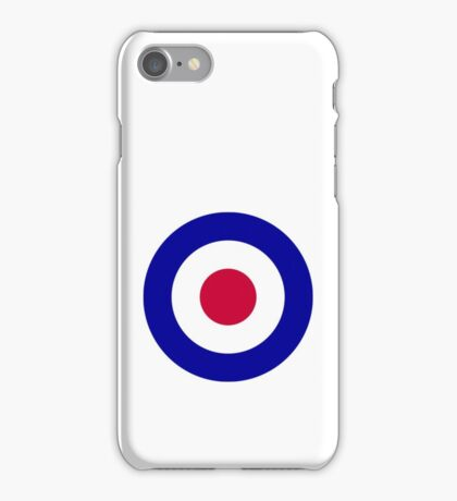 Roundel of the Royal Air Force iPhone Case/Skin