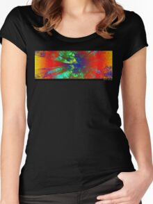 Vivid Nature Women's Fitted Scoop T-Shirt