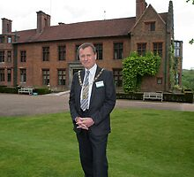 Ernest Noad Mayor of Bromley at Chartwell by Keith Larby
