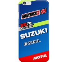 Maverick Vinales iPhone Case/Skin
