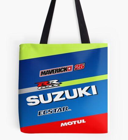 Maverick Vinales Tote Bag