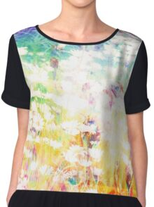 They Live In The Meadow Chiffon Top