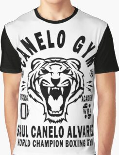 Saul Canelo Alvarez Boxing Gym Graphic T-Shirt