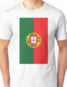 Portugal Flag Unisex T-Shirt