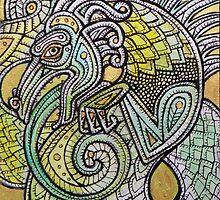 Dragon Swirl by Lynnette Shelley
