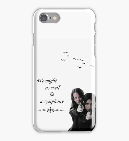 Root x Shaw iPhone Case/Skin