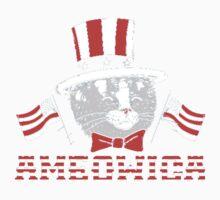 America Cat One Piece - Long Sleeve