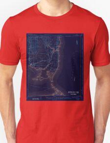 USGS TOPO Map Alabama AL Cedar Point 305525 1943 62500 Inverted T-Shirt