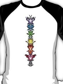 Fractal Art - Chakras - Energy Centers T-Shirt