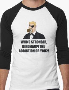 Who's Stronger Birdman?! Men's Baseball ¾ T-Shirt