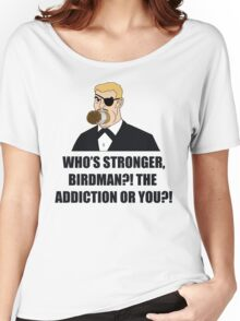 Who's Stronger Birdman?! Women's Relaxed Fit T-Shirt