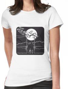 full moon liebespaar rocking Womens Fitted T-Shirt