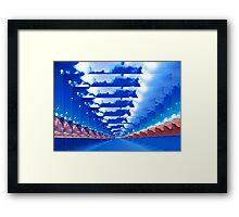 INFINITY LANDSCAPE Framed Print