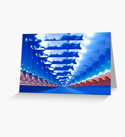 INFINITY LANDSCAPE Greeting Card