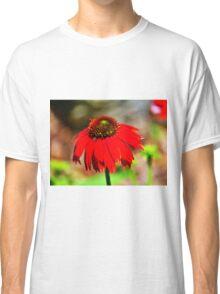 Salsa Red Coneflower Classic T-Shirt
