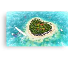 Tropical dream Canvas Print