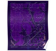 USGS TOPO Map Alabama AL Doran Cove 303696 1936 24000 Inverted Poster